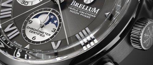 Brellum Duobox LE.8 Triple Calendar Moonphase