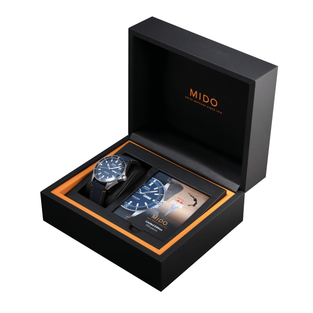 Mido Ocean Star 200 Red Bull Cliff Diving Limited Edition Ref. M026.430.17.041.00