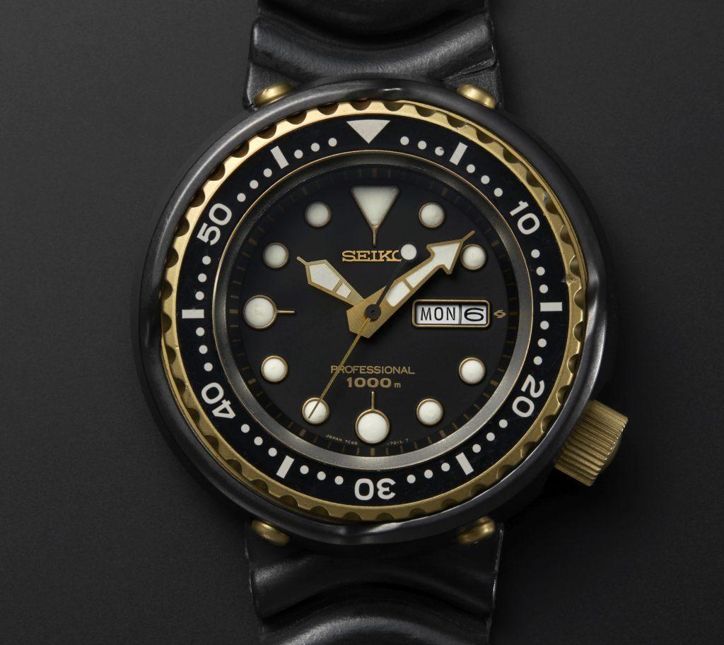 The 1986 original. A quartz diver's watch made expressly for 1000m saturation diving.