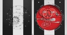 Trilobe par Daniel Buren - Duo