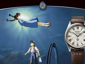 Seiko Presage Studio Ghibli Castle In The Sky Collaboration Limited Edition