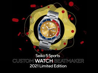 Seiko 5 Sports CUSTOM WATCH BEATMAKER 2021 Limited Edition