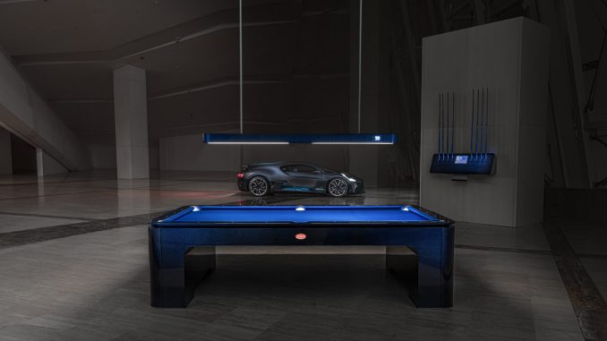 Bugatti Pool Table