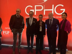 Finalists of the GPHG's 2021 edition on show in St. Petersburg