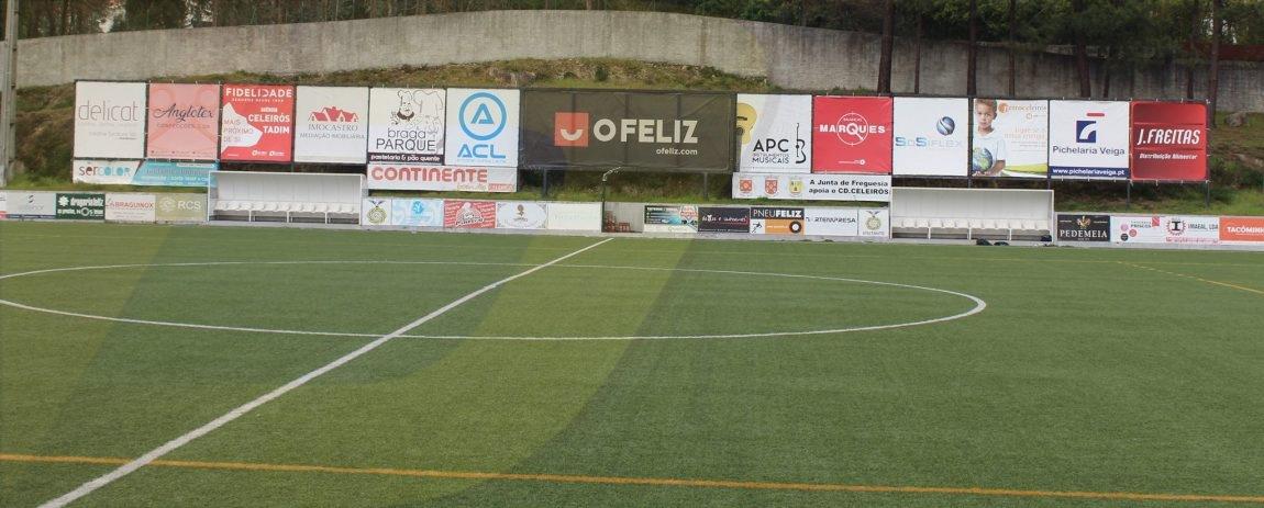 CD Celeirós acusa adversário de ser árbitro nos jogos da equipa de juniores
