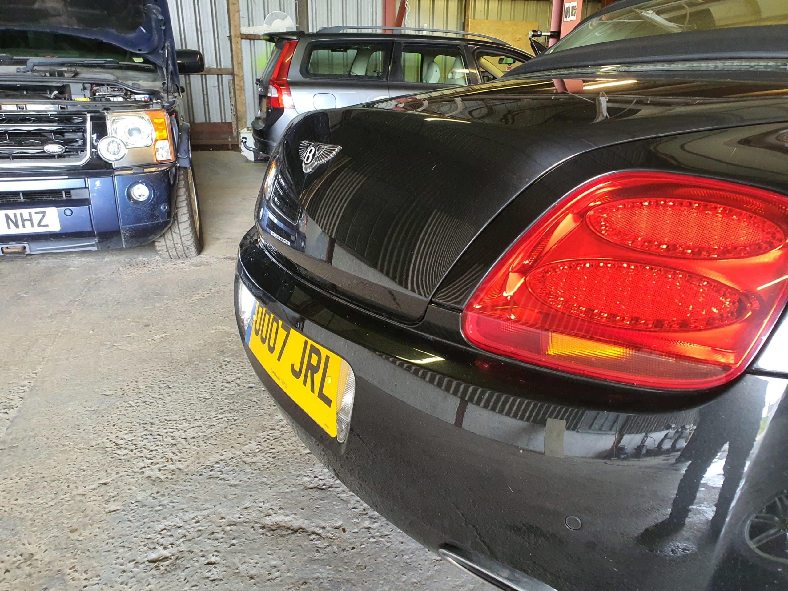 Bentley Exhaust flapper Modification