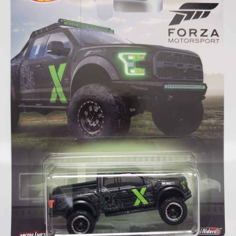Hot Wheels 2019 Retro Entertainment Forza Motorsport 2017 Ford Raptor FYP67