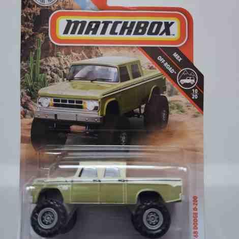 Matchbox 2019 MBX Off-Road Dodge D-200 at JTC Collectibles
