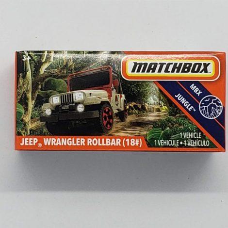 Buy Matchbox 2020 Power Grabs MBX Jungle Jeep Wrangler Roll Bar (#18) MB1182