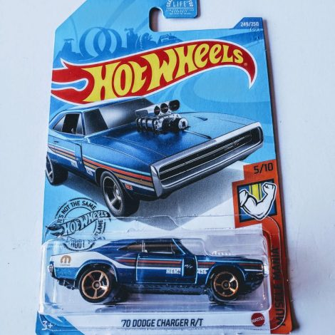 Hot Wheels 2020 1970 Dodge Charger GHD07