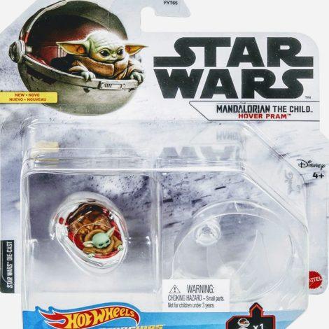 """Hot Wheels 2021 Star Wars Starships Mandalorian """"The Child"""" Hover PRAM GVF57"""