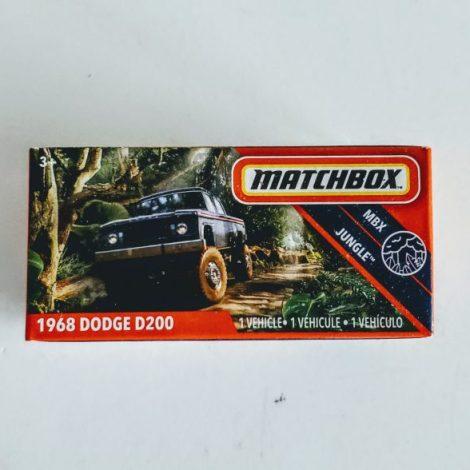 Matchbox 2020 Power Grabs MBX Jungle 1968 Dodge D200 GKN13