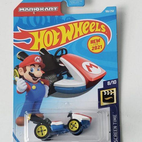 Hot Wheels 2021 HW Screen Mario Kart Standard Kart GRX17