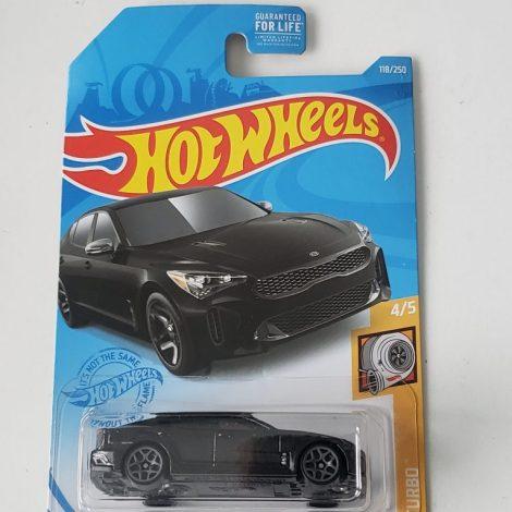 Hot Wheels 2021 HW Turbo 2019 Kia Stinger GT Black GTC00