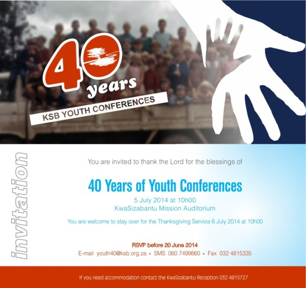 40 years of Youth Conferences
