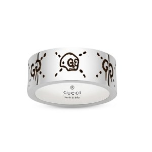 Gucci Ghost Skull Ring YBC455318001022_0