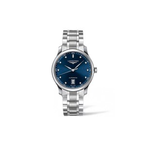 Longines Masters Collection S/Steel Blue Dial 12 Diam Auto Serial 46582940 DNO BROADWAY_0