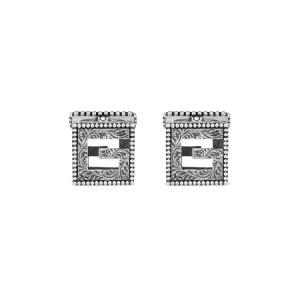 Gucci G Cube Cufflinks YBE55276500100U_0