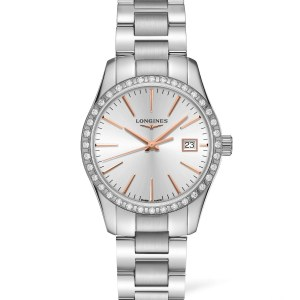 Longines Conquest Classic 34Mm Silver Dial Stainless Steel L23860726_0