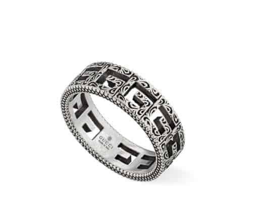 Gucci Silver Ring With Square G YBC576993001024_0