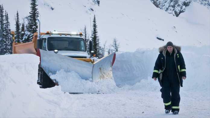 cold pursuit snow