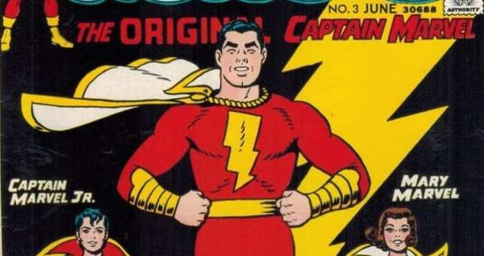 shazam! shazam dc comics captain marvel