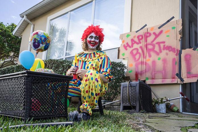 postal clown