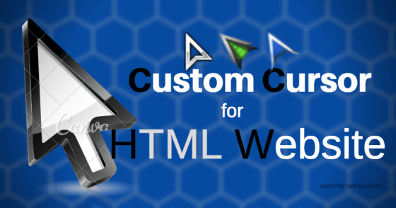 [BEST] Custom Cursor for Blogger and Websites CSS
