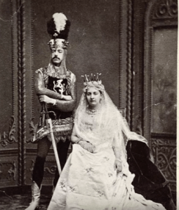prince amedeo and Maria Vittoria dal pozza