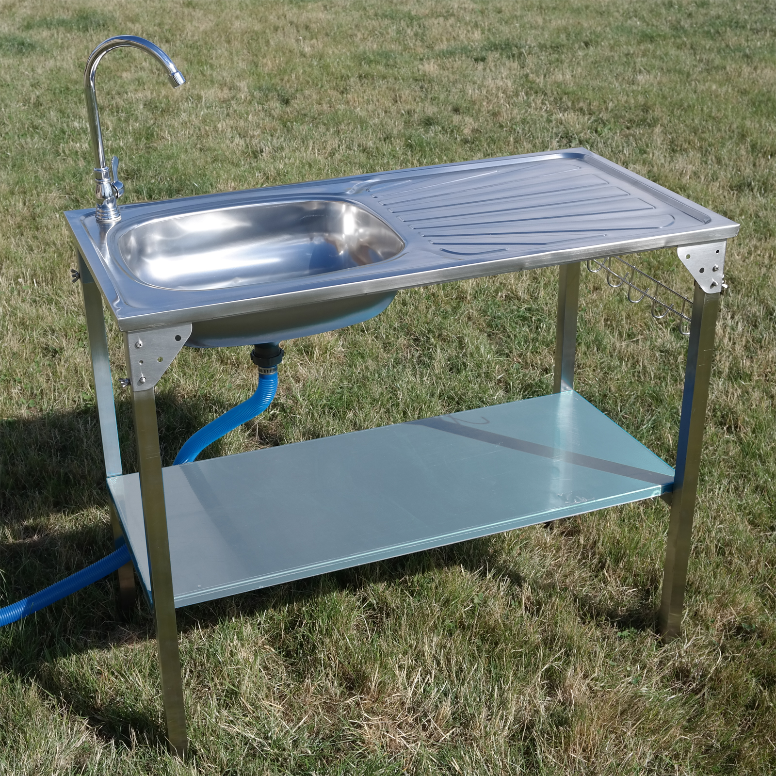 Kitchen Sink Camping Unit Folding Barbecue/BBQ Tap Outdoor ... on Outdoor Patio Sink id=78674