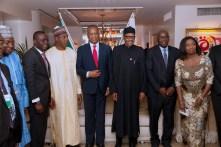 PRESIDENT BUHARI MEETING NIGERIANS IN JAPAN 6
