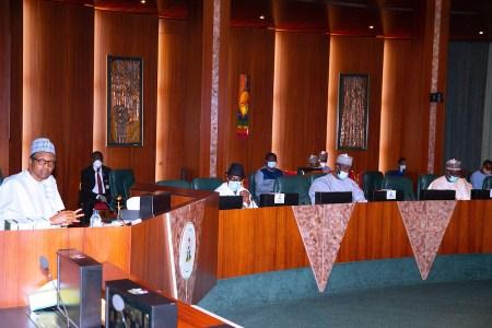 At NEC Meeting, Buhari Urges Members Not to Let APC Disintegrate ...