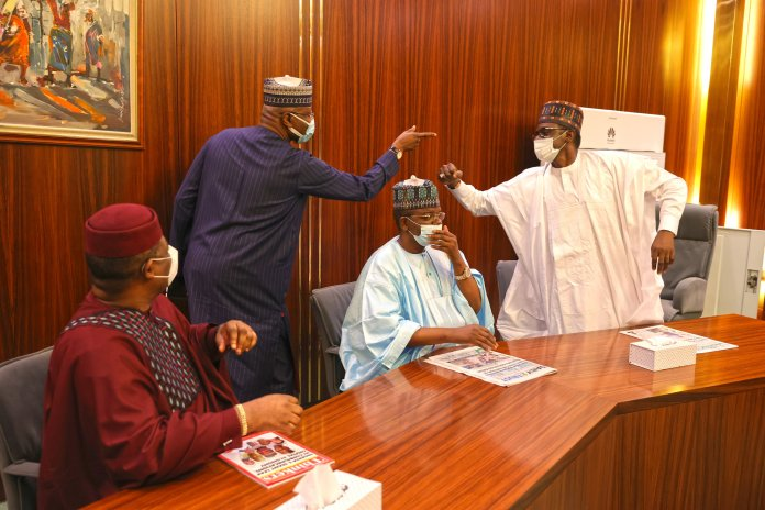 a2523beb president buhari receives ffk and three others 6 scaled