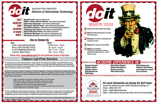 18-IT Department Hiring Flyer