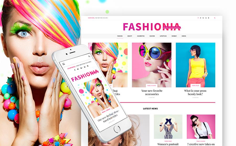 Womens Fashion Blog WordPress Theme