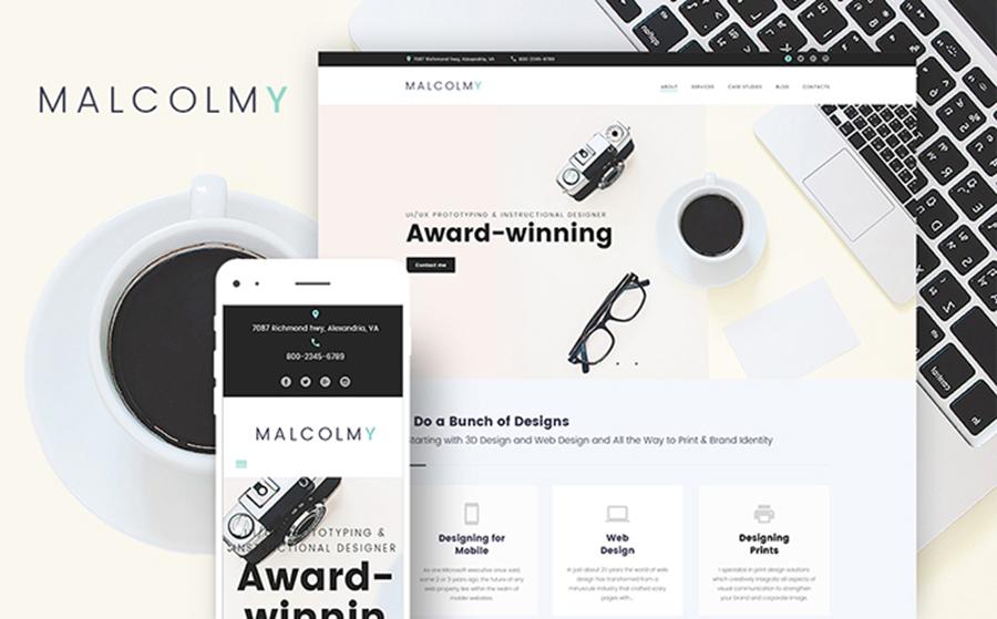 Web Designer Portfolio WordPress Theme