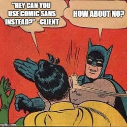 Comic Sans Designers