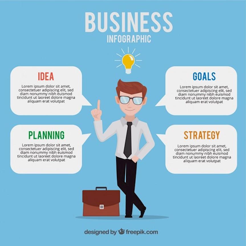 nice-businessman-with-speech-bubbles_23-2147571065