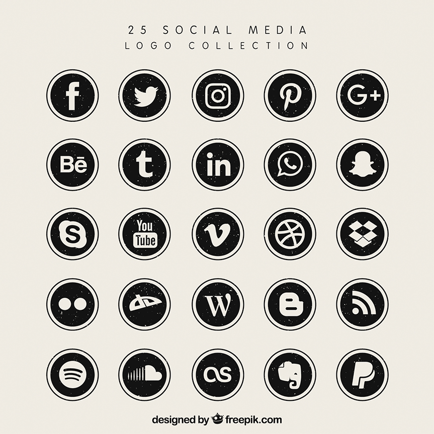 20 Free Social Media Icon Sets To Download