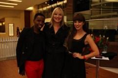 Nthato Mashishi, Melissa Van Zyl and Gina Myers