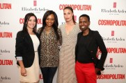 Janine Fernandes(Brand Manager elizabeth Arden)Bonang Matheba, Cindy Josef and Nthato Mashishi