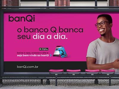O banQi, banco digital da Via Varejo (VVAR3), recebeu aportes de R$ 300 milhões.