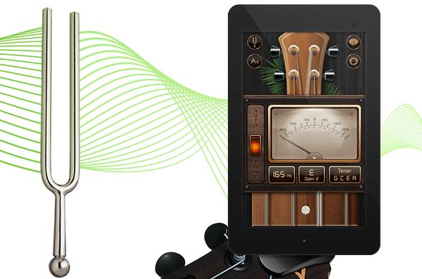 [推薦APP] Guitar tuner吉他調音器,吉他,烏克麗麗都適用。 - Angus福利社