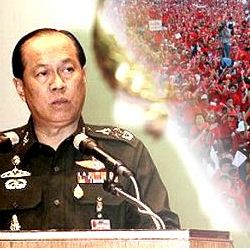 general Anupong and the reds