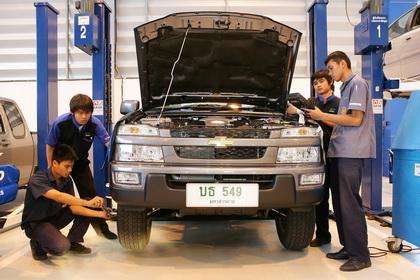 general motors thailand production