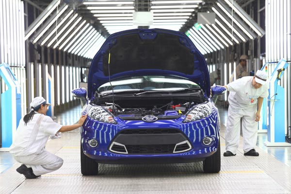 Usine Ford Rayong Thailande