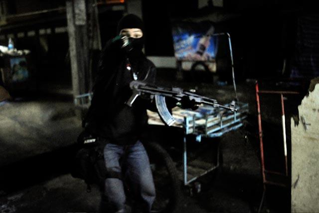 Black shirt Bangkok Riots 2010