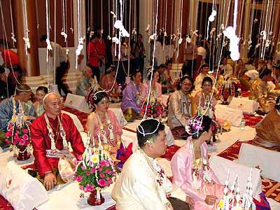 mariage thailandais