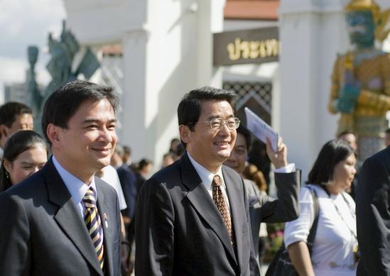 abhisit expo Shanghai