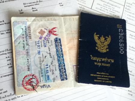 Passeport et Permis de travail